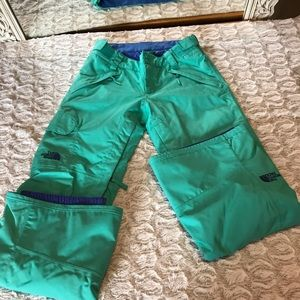 NORTH FACE ski pants S/XS HyVent Excellent cond.